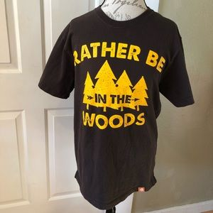 """Legendary Whitetails """"Rather Be In The Woods"""" Tee"""